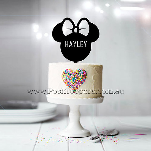 Minnie with Custom Name
