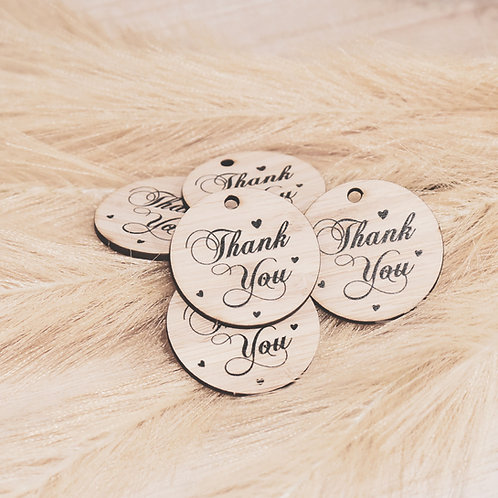 Thank You  - Personalised Gift Tags Packs