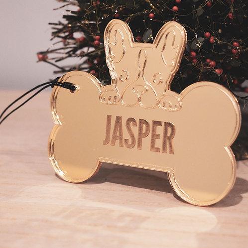 Personalised French Bulldog - Pet Ornament