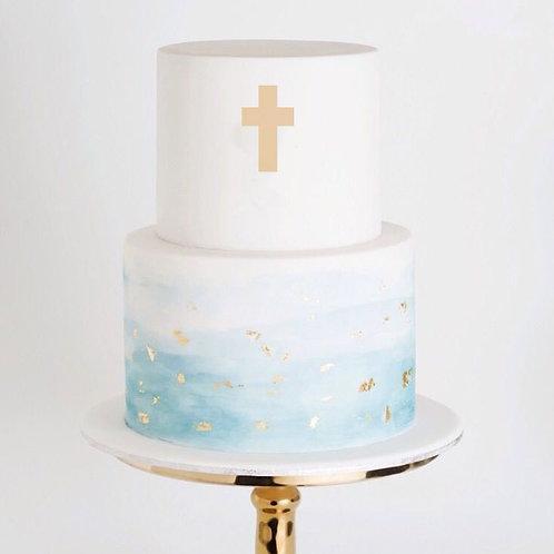 Religious Cross 2 -  Cake Topper
