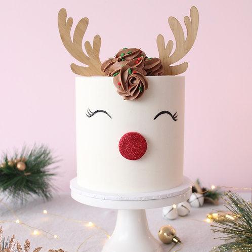 Reindeer Antlers - Cake Topper