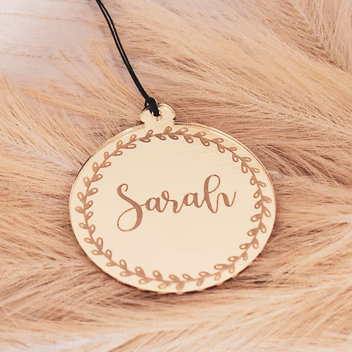 Personalised Wreath - Ornament