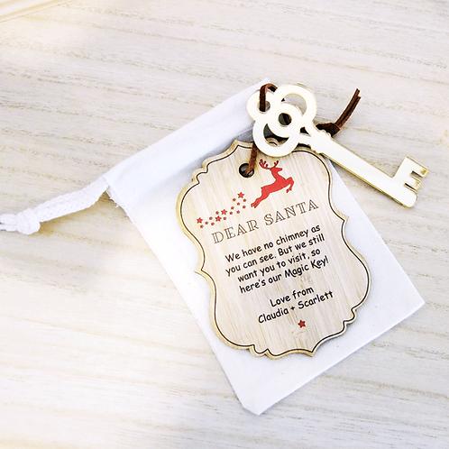 Santa's Magic Key - Christmas Decoration