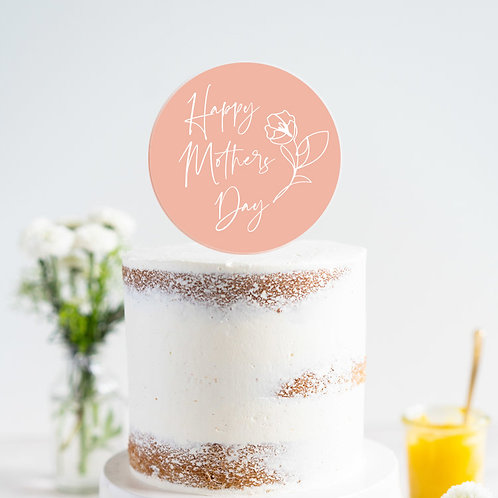 Mothers Day - Cake Topper