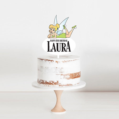 Tinkerbell - Birthday Cake Topper