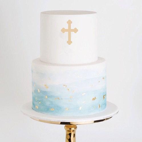 Religious Cross 3 -  Cake Topper