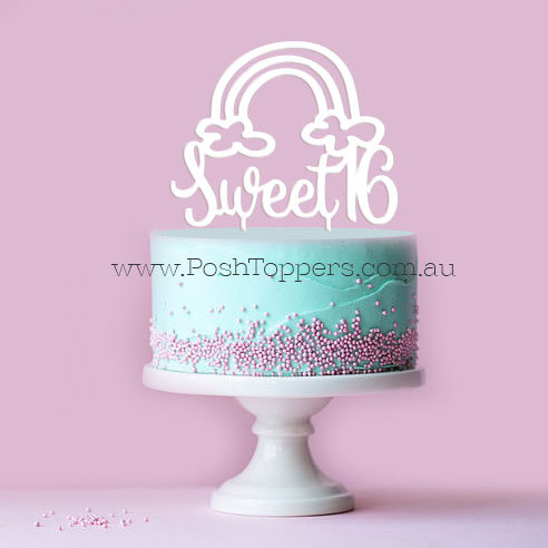Sweet 16 - Rainbow
