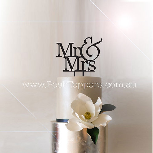 Designer Mr & Mrs