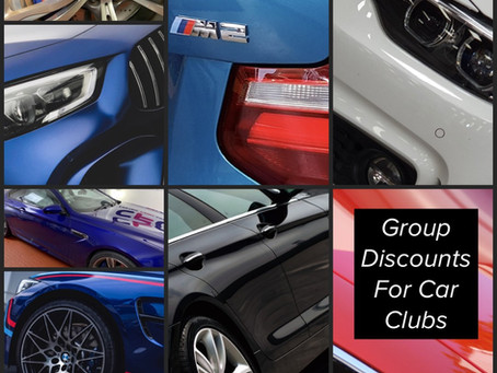 Car Club / Owner Groups Ceramic Coating Discounts