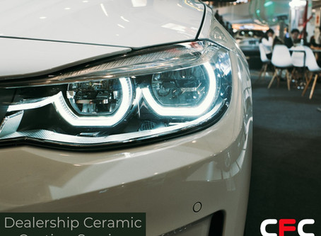 Car or Bike Dealership? Customer with a new vehicle? Ceramic Coating Service
