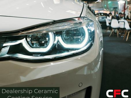 Car or Bike Dealership? Customer with a new vehicle? Ceramic Coating Service