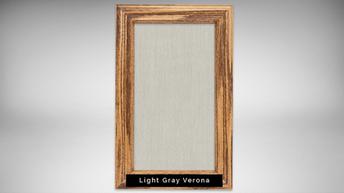 light gray verona - natural light frame.