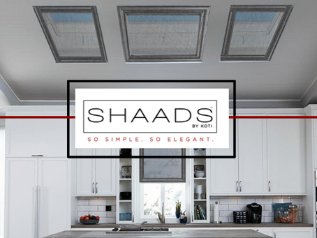 The Latest Design for Skylight Covers: SHAADS®