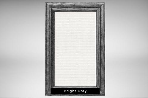 Espresso Frame Covers with Transparent or Opaque Fabrics