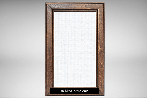 Walnut Frame Covers with Designer Fabrics