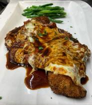 Kansas City Pork Chop Parmigiana