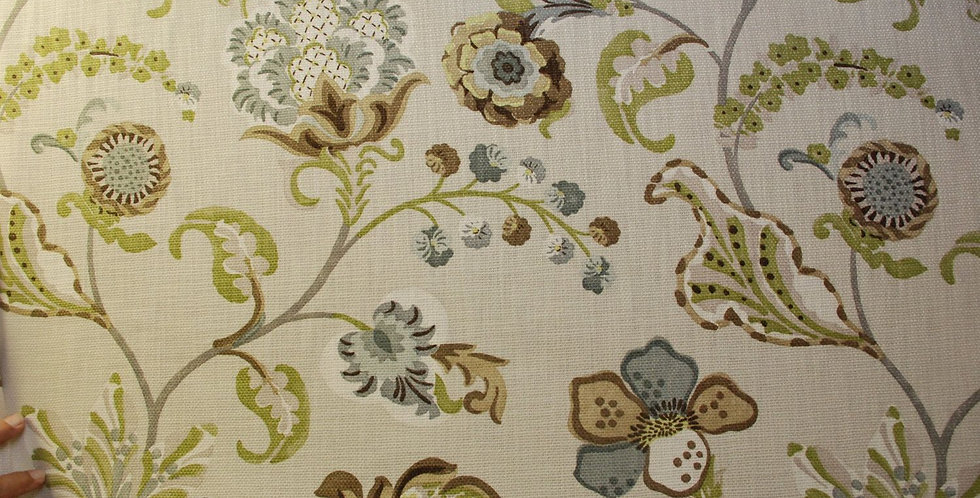 Floral Vines Fabric