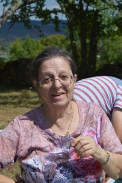 Paulette, guide roseraie