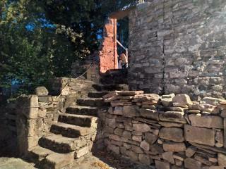 Escaliers du parc