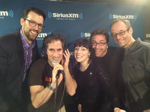 Deb and Broadway's Next Hit Musical performing on Seth Rudetsky's SiriusXM Radio Show 2015.