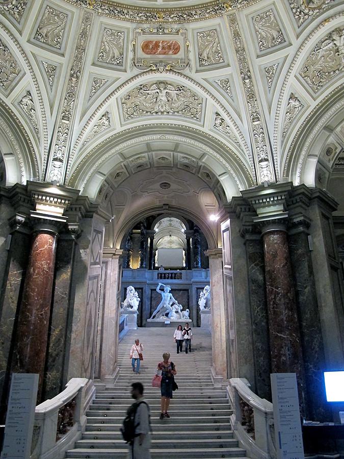 Visiting The Kunsthistorisches Museum, Vienna