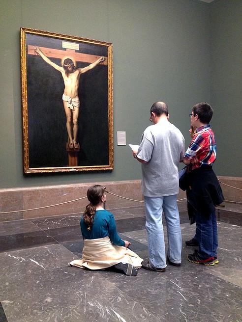 Visiting The Prado Museum, Madrid