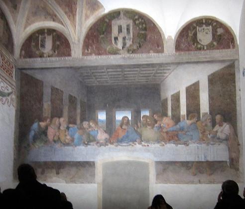 Visiting Leonardo's Last Supper in Milan