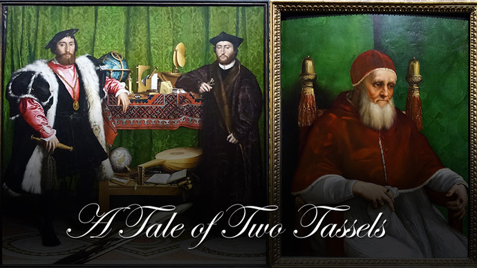 A Tale of Two Tassels - Raphael and Holbein in The National Gallery, London