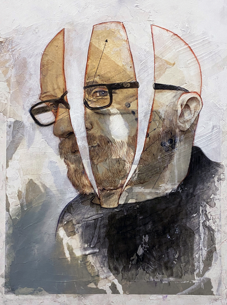 Quarantine Self Portrait No1