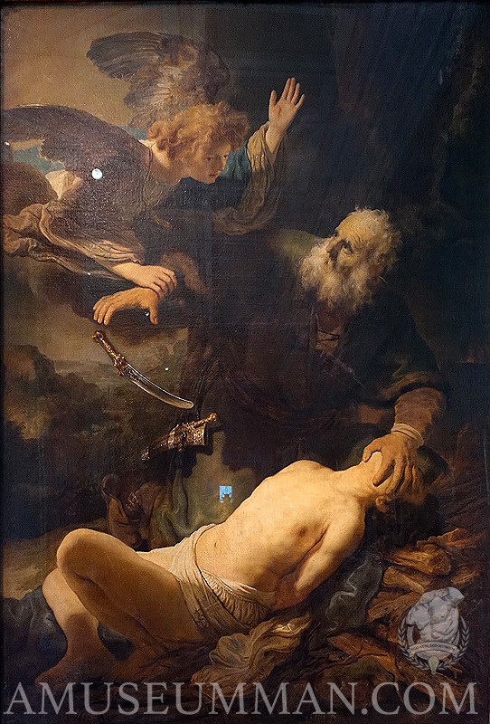 Rembrandt's Sacrifice of Abraham