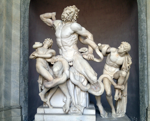 Visiting the Vatican Museums, Rome