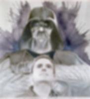 Portrait of Matt Sawyer w/ Vader