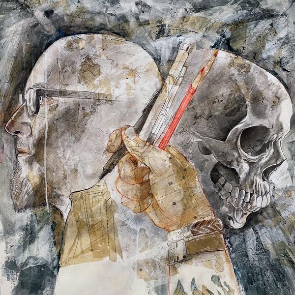 Self Portrait with Memento Mori