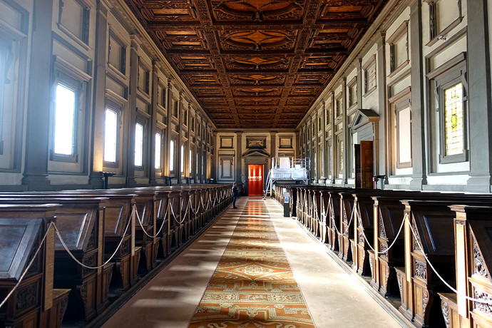 Visiting The Laurentian Library, Florence