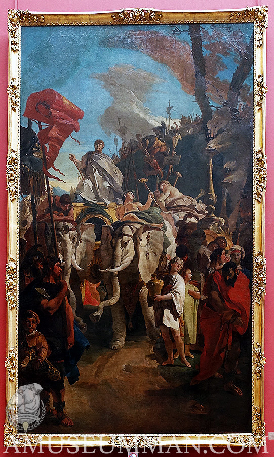 Part of a Monumental Triumph Series by Tiepolo