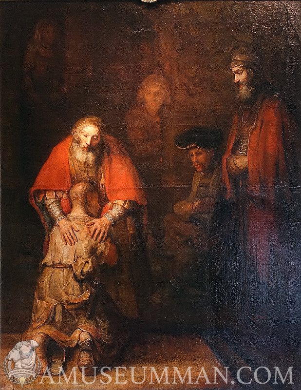 The Prodigal Son by an Old Rembrandt