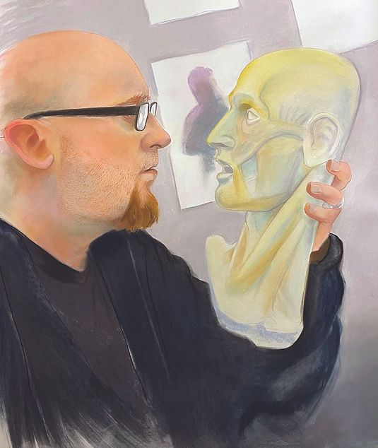 Self Portrait Feeling Mortality in Acade