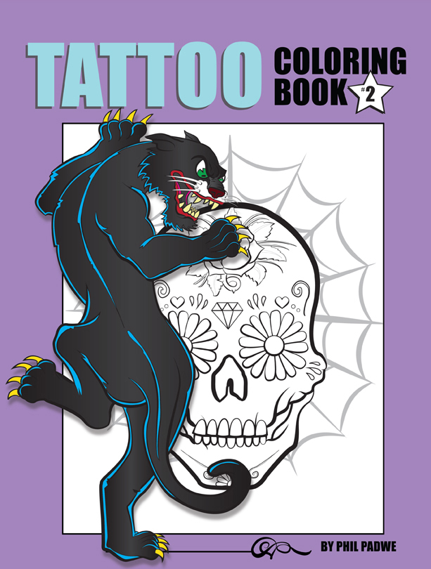 Tattoo Coloring Book #2