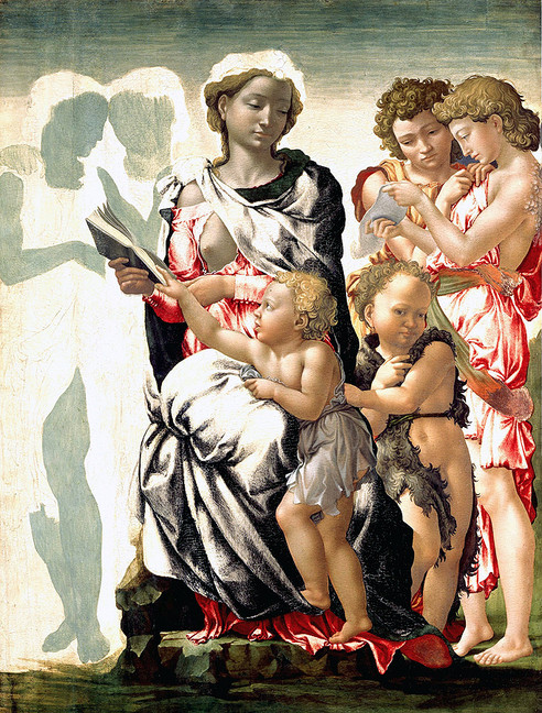 Thoughts on Michelangelo's Maturation in Paint