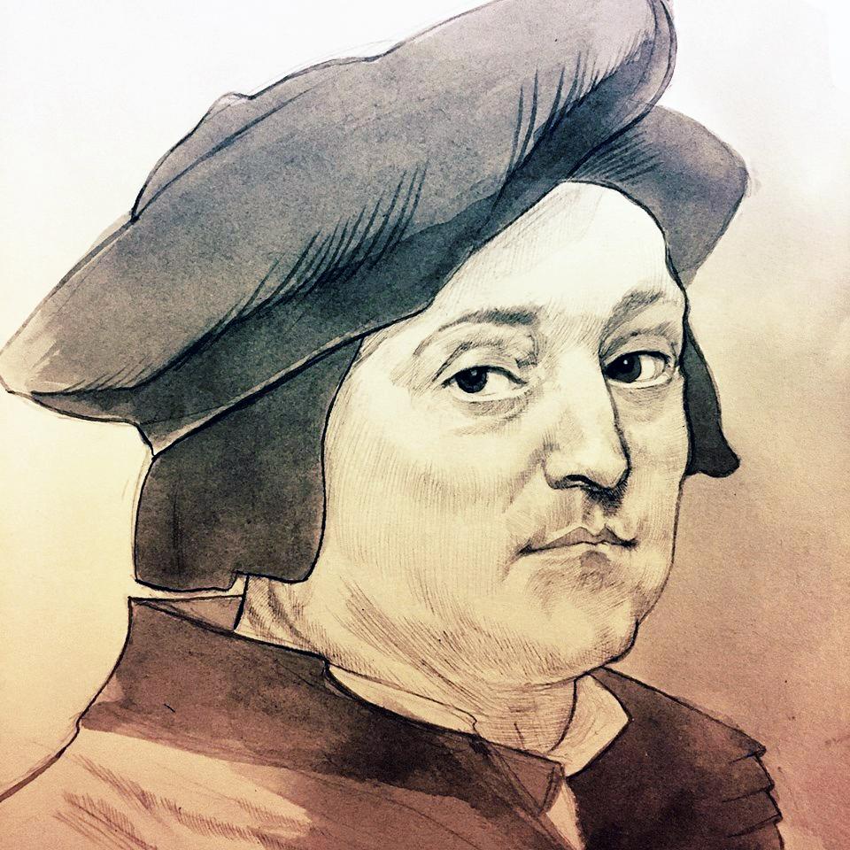 Portrait of Andrea del Sarto