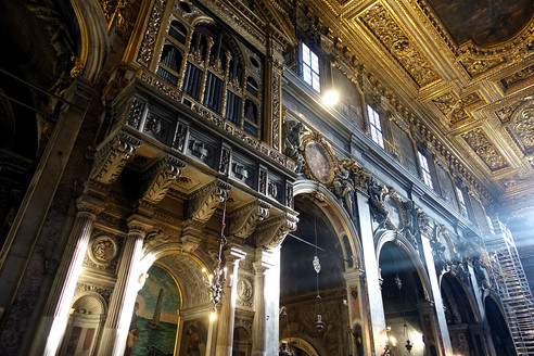 Visiting Santissima Annunziata, Florence