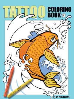 Tattoo Coloring Book #1