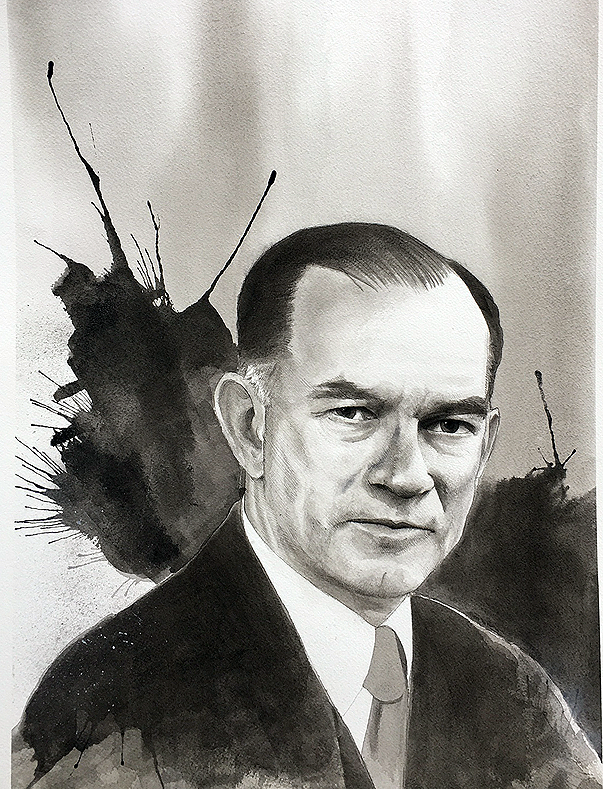 Portrait of J. William Fulbright