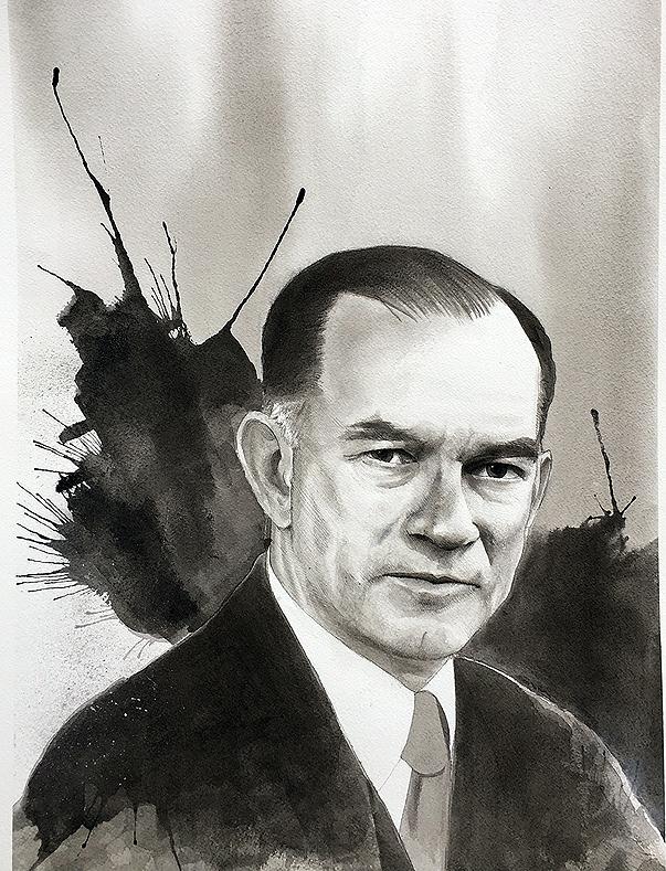 Portrait of J. William Fulbright