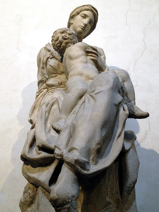 Madonna and Child by Michelangelo