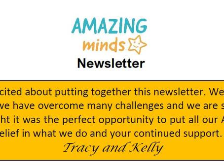 Amazing Minds Newsletter