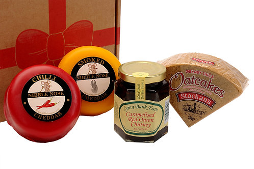 CHOOSES YOUR OWN 2 CHEESE GIFT BOX