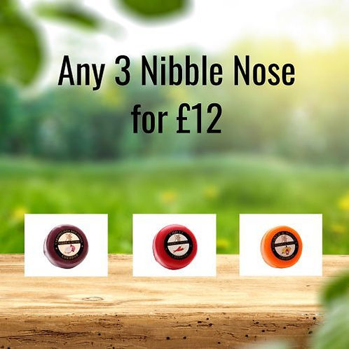 Any 3 Nibble Nose for £12