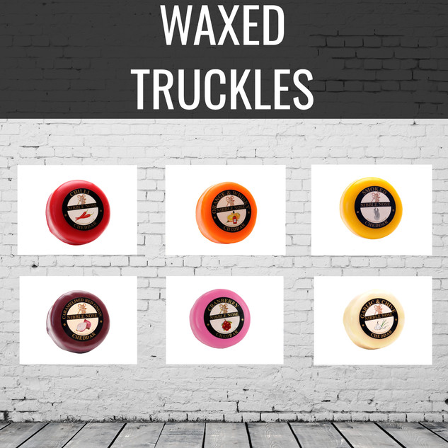 WAXED CHEESE TRUCKLES