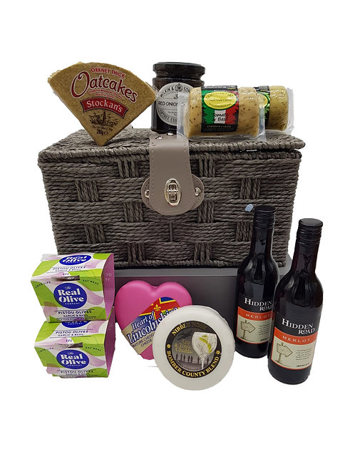 CHEESE AND WINE NIGHT HAMPER